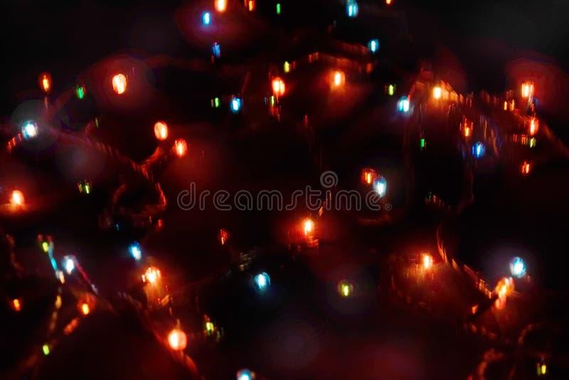 D?cor d'ampoule Guirlande avec image libre de droits