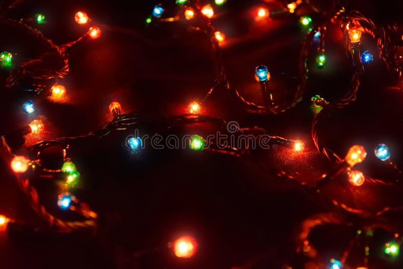 D?cor d'ampoule Guirlande avec images libres de droits