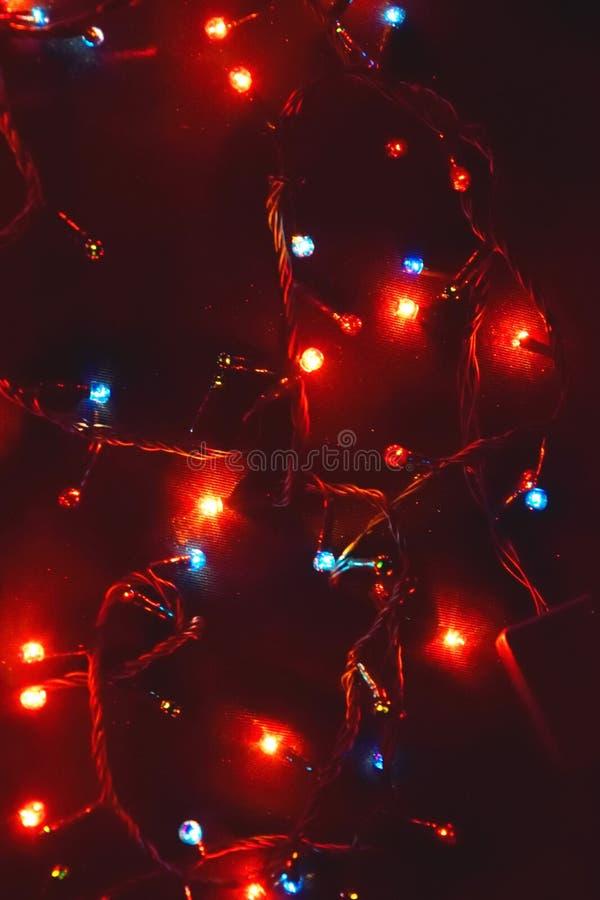D?cor d'ampoule Guirlande avec images stock