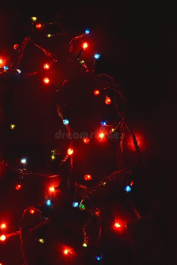 D?cor d'ampoule Guirlande avec photographie stock