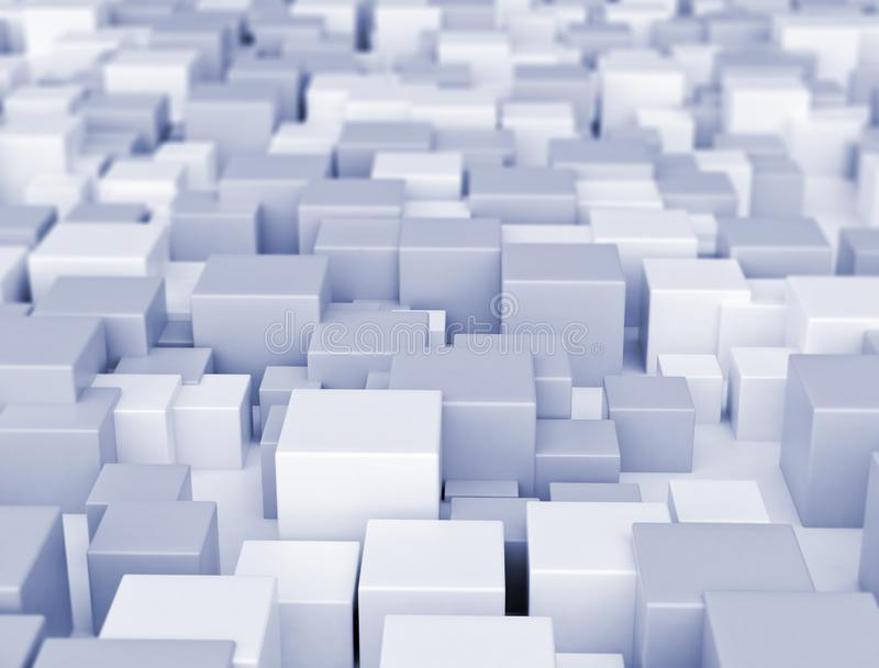 3d cubes background royalty free stock photos