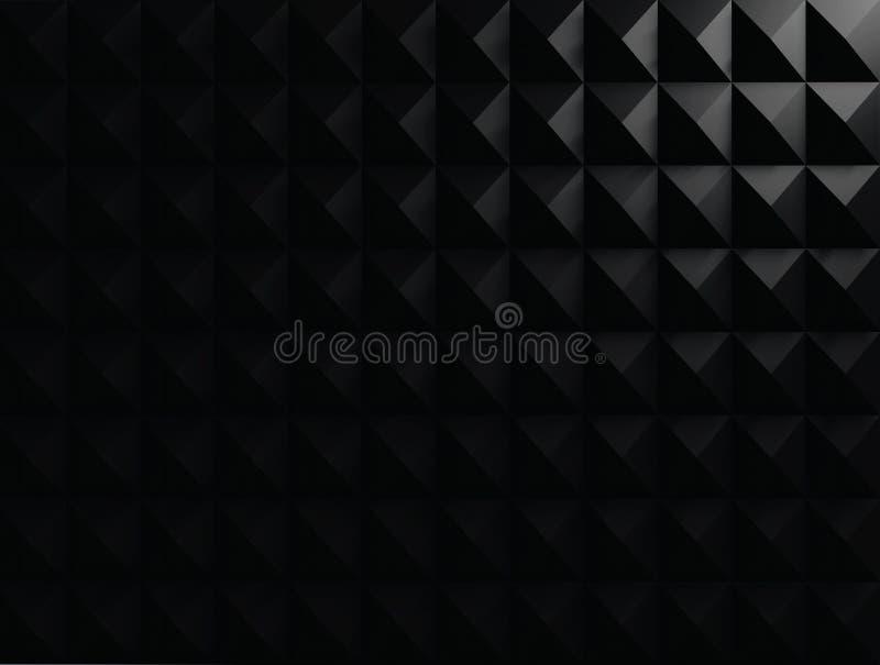 3d czerni tło fotografia stock