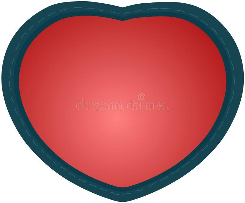3D Czerwona Kierowa tekstura dla kartka z pozdrowieniami tkanin tkaniny płócien, apps i strony internetowe royalty ilustracja