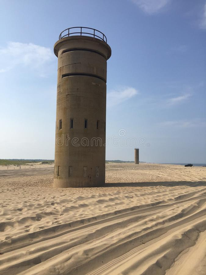 D day tower stock image