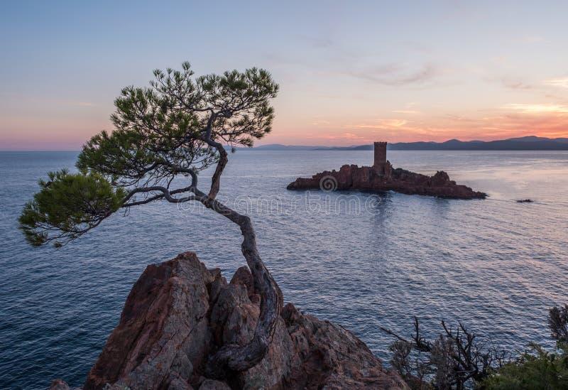 DÂ'Or de França Provenece Illes mediterrâneo fotos de stock