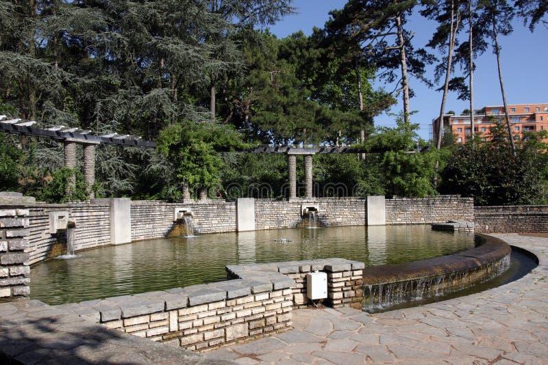 d'Or de Parc de la Tete fotos de archivo