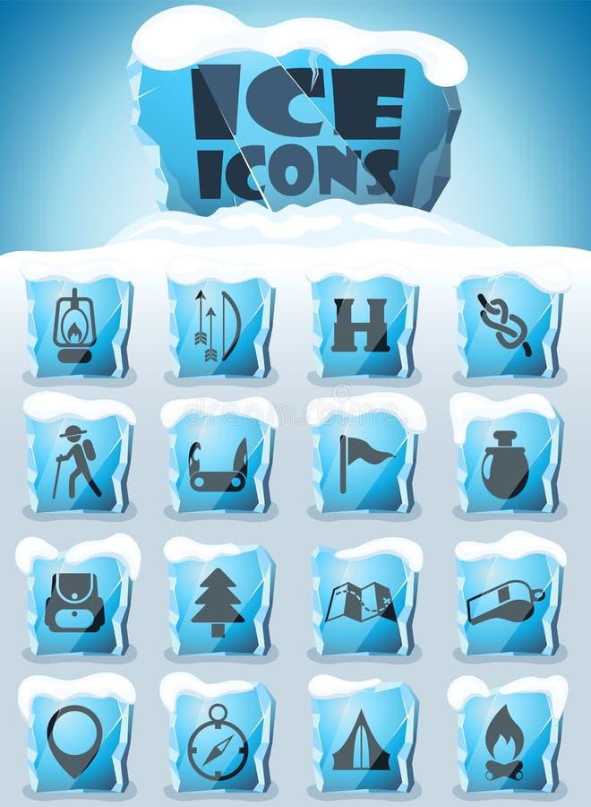 d?a de sistema del icono de los exploradores libre illustration