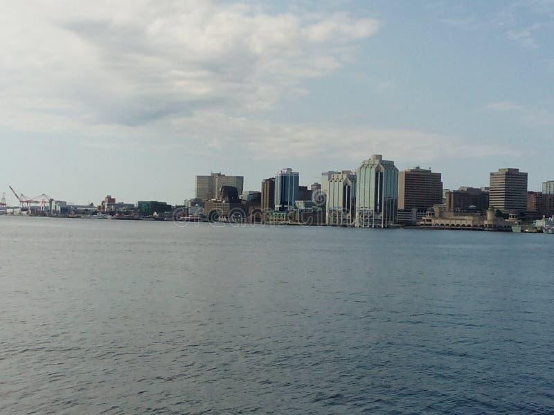 D& x27 di VUE; Halifax fotografie stock
