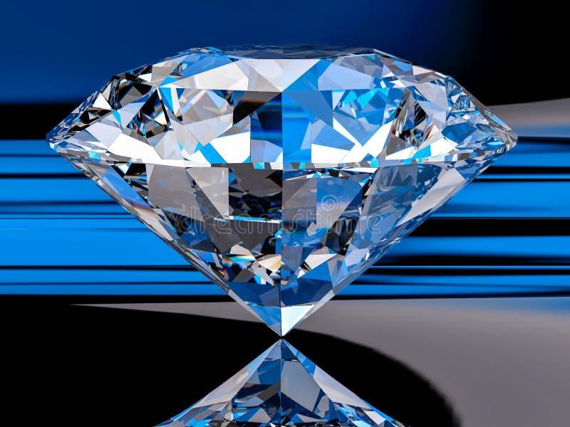 3d Diamond Background vector illustratie
