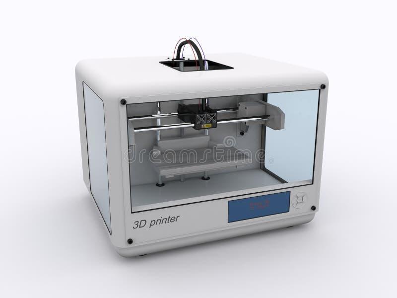 3D drukarka fotografia royalty free
