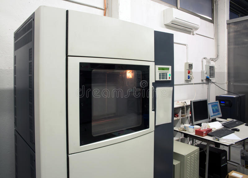 3D drukarka - FDM druk obraz stock