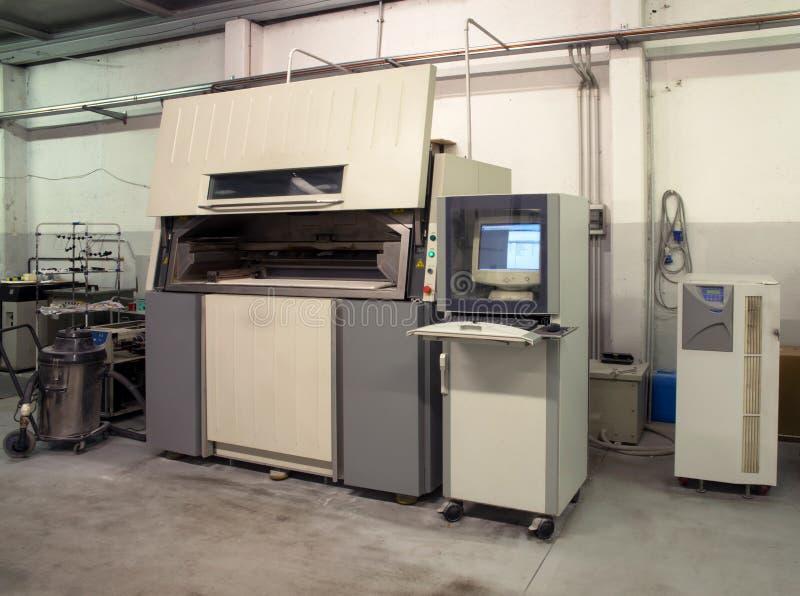 3D drukarka & x28; SLS& x29; zdjęcie royalty free