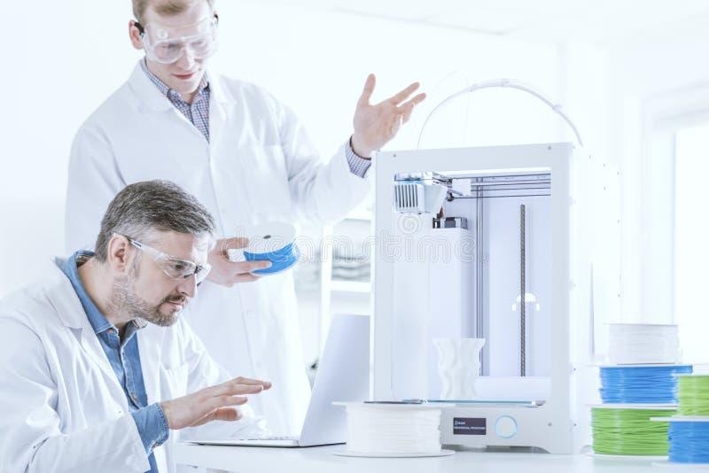 3D drukarka z drucikiem obrazy royalty free