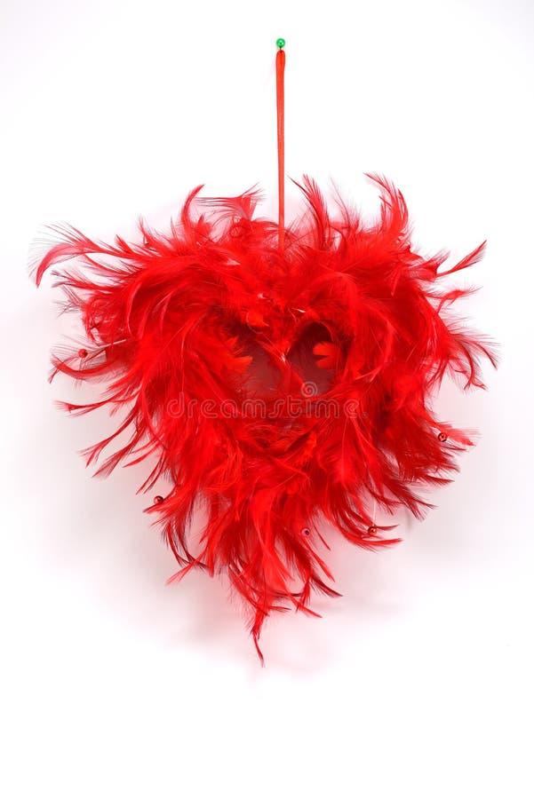 3d dzień wyszczególniający serce odpłaca się s valentine zdjęcia royalty free
