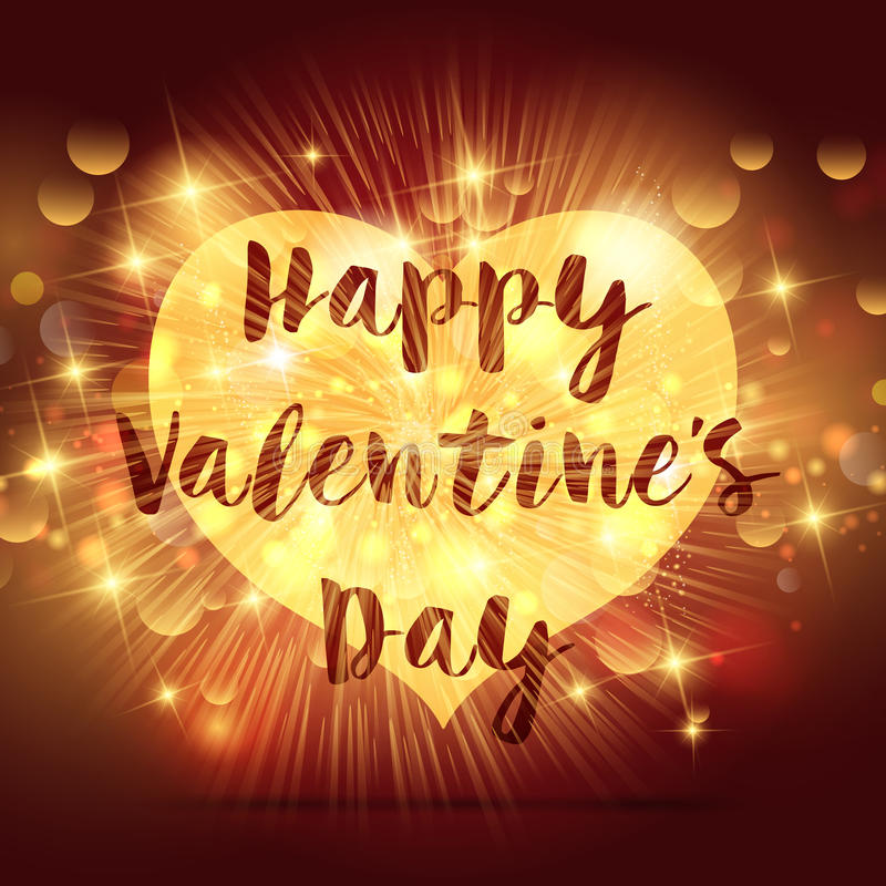 3d dzień wyszczególniający serce odpłaca się s valentine royalty ilustracja