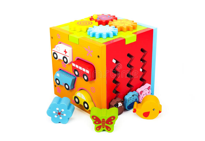3d dzieci ilustraci zabawki fotografia stock