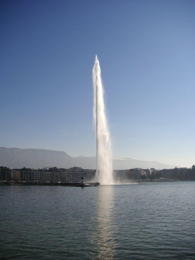 d eau喷气机 图库摄影