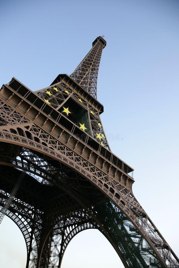d'Eiffel di giro fotografia stock libera da diritti