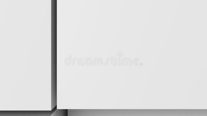 3D ejemplo, fondo abstracto ilustración del vector