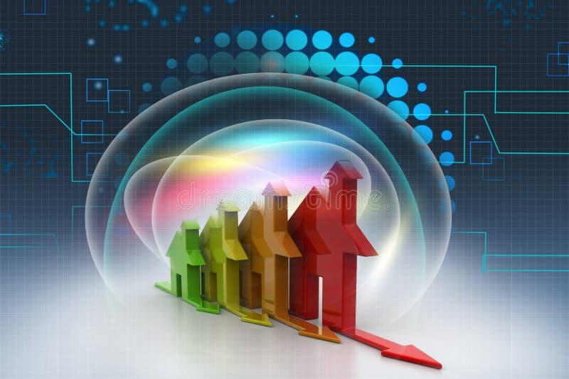 3d, Energieeffizienzkonzept vektor abbildung