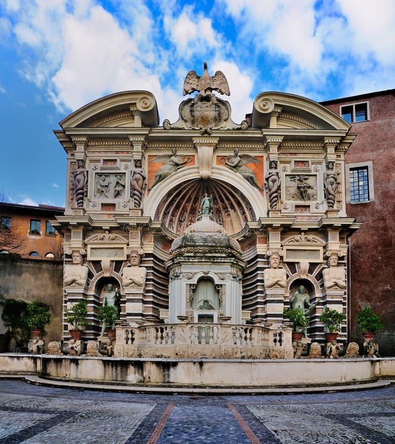 d'Este del chalet, Tivoli, Italia imágenes de archivo libres de regalías