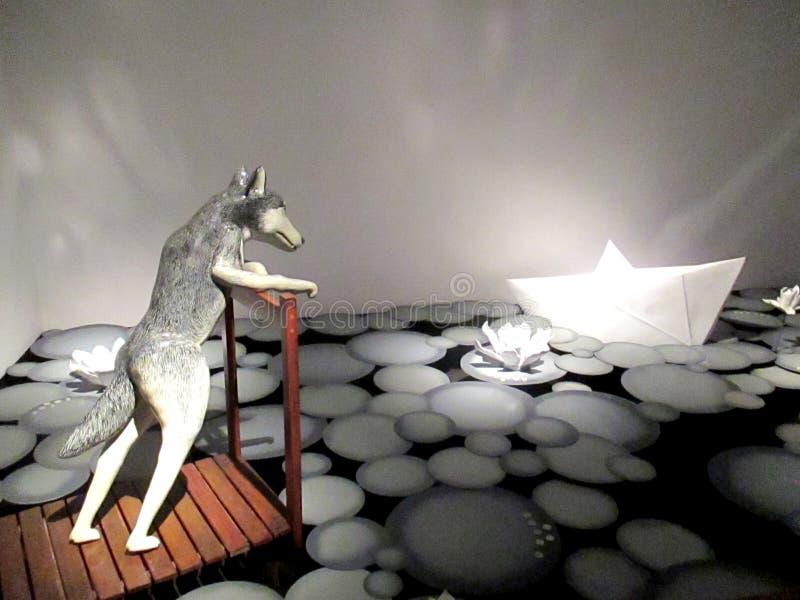 ` D'exposition d'art d'installation le musée mondes ` imaginaire centre Recoleta Buenos Aires l'Argentine en janvier 2017 culture photos stock