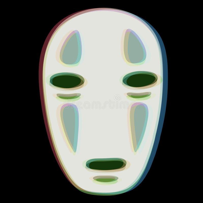 3d faceless spirited away. 3d faceless no-face spirited away royalty free illustration