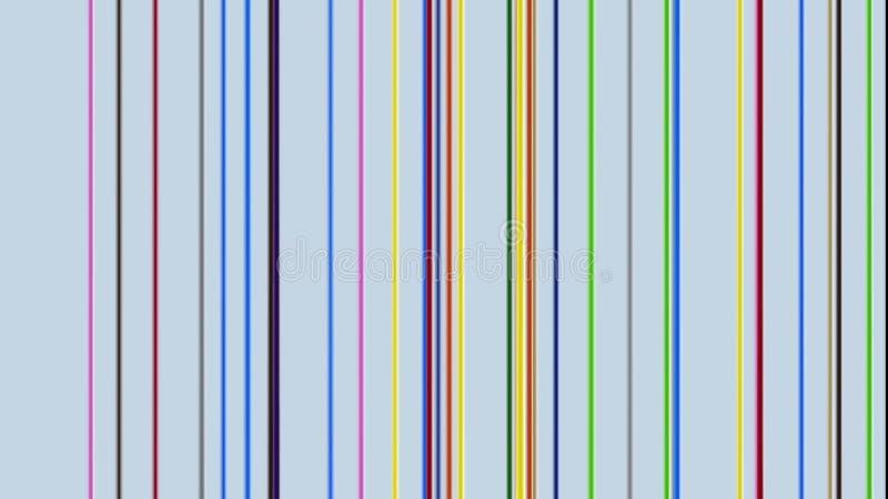 3D farby multicolor kolorowe glansowane krople kapie w dół ilustracja wektor