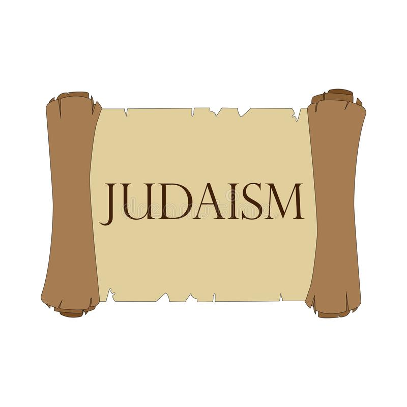 D?filement de Torah illustration libre de droits