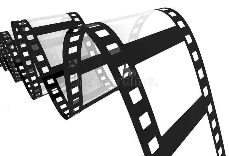 3d: Film royalty-vrije illustratie