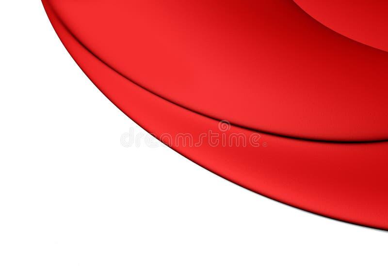 3D Flag of Monaco. 3D Illustration vector illustration