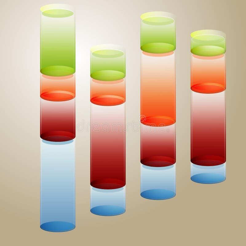 3D Fluid Bar Chart