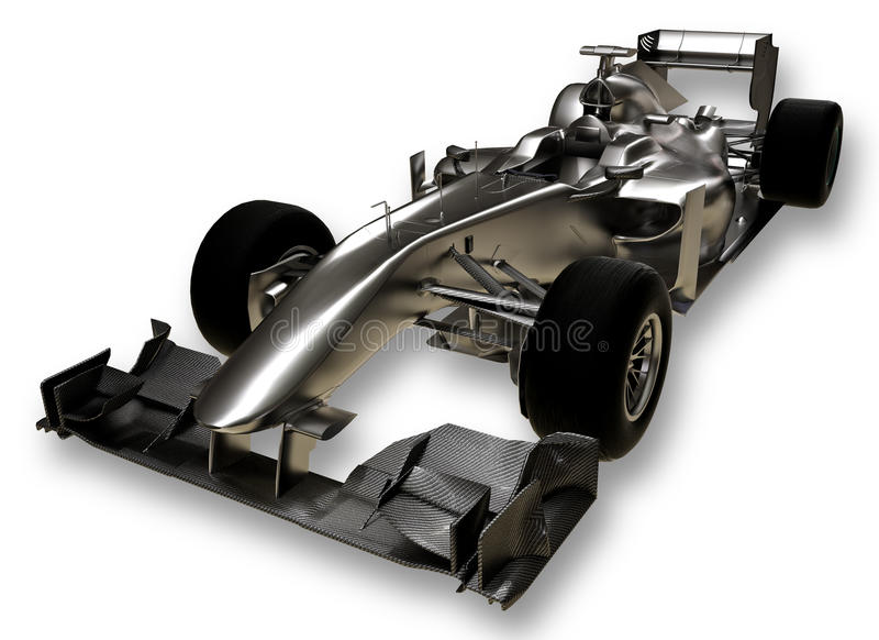 A 3d formula 1 car stock illustration