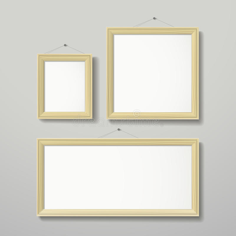 3D Frame Design Vector For Image Or Text Stock Vector - Illustration ...