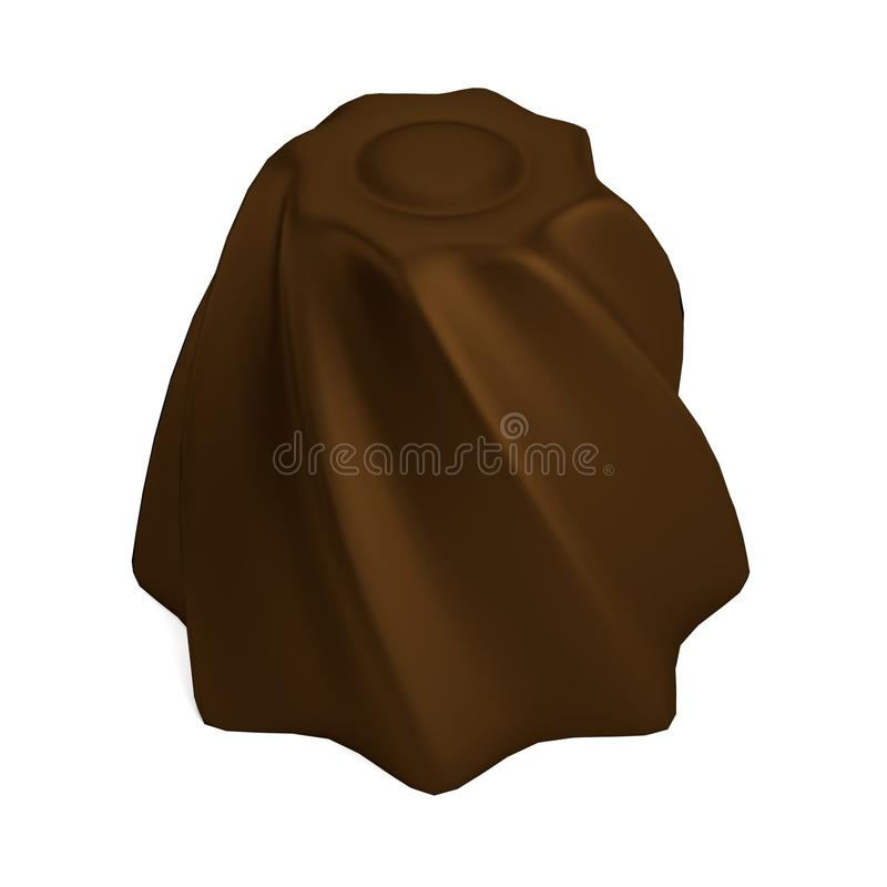 Download 3d Framför Av Chokladgodisen Stock Illustrationer - Illustration av choc, choklad: 37345074