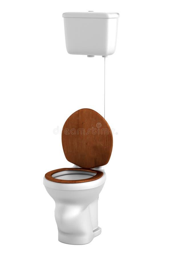 Download 3d framför av toalett stock illustrationer. Illustration av realistiskt - 37348373