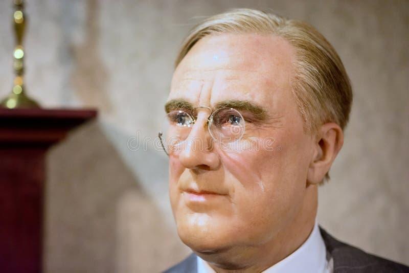 D Franklin Roosevelt roosevelt royaltyfri foto