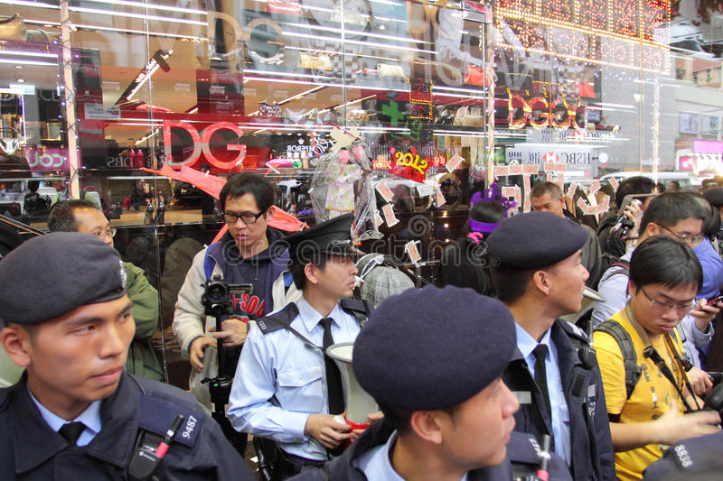 Download D&G Photo Ban Sparks Protest In Hong Kong Editorial Stock Image - Image: 22748624