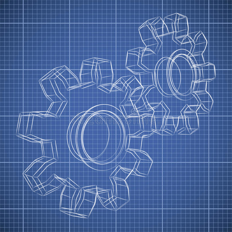3d gear wheel sketch stock vector illustration of lines 31969074 3d gear wheel sketch drawing on blueprint background malvernweather Choice Image