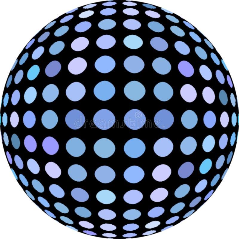 3d gebiedsamenvatting grafisch op witte geïsoleerde achtergrond Blauw zwart ctrative mozaïek vector illustratie