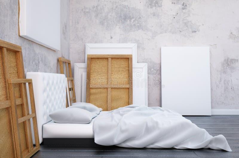 Muur bed amazing laag muurtje achter het bed with muur for Bed in de muur