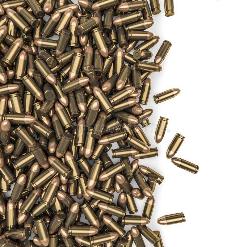 De morserij van kogels vector illustratie