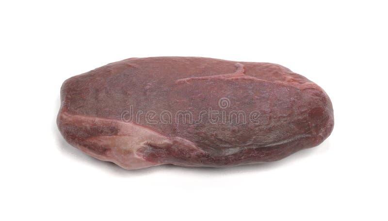 3D geef van Rundvleeslapje vlees terug royalty-vrije illustratie
