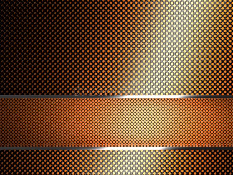 3d geometrische achtergrond stock illustratie