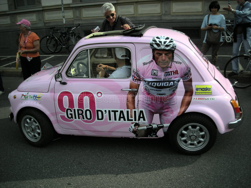 D-giro italia royaltyfri bild