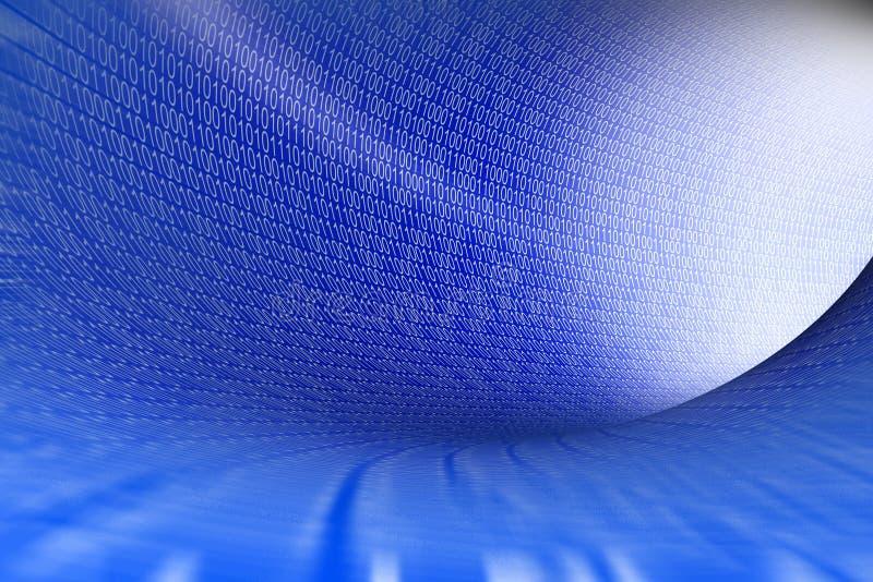 3D grafika, internet, internet, cyfrowe liczby… ilustracji