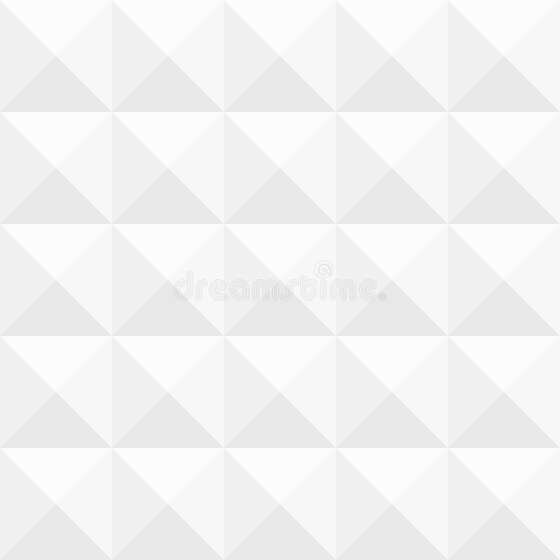 3D Gray Geometric Pattern illustration de vecteur