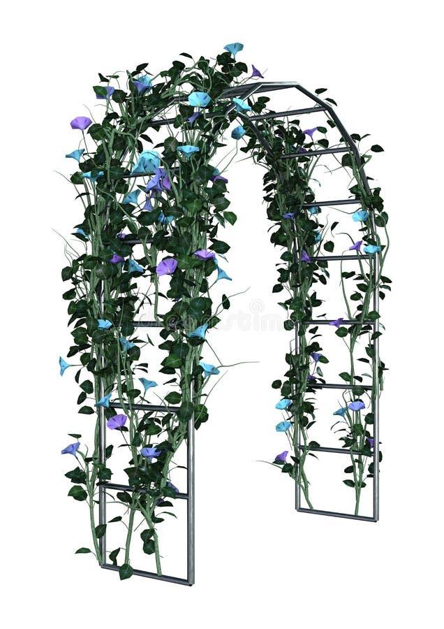 3D het Teruggeven Tuinas op Wit royalty-vrije stock afbeelding