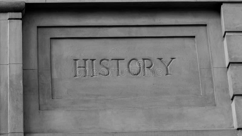 ` d'histoire de ` en Roman Style Stone Carving photographie stock