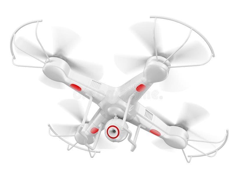3D hommel met camera vector illustratie